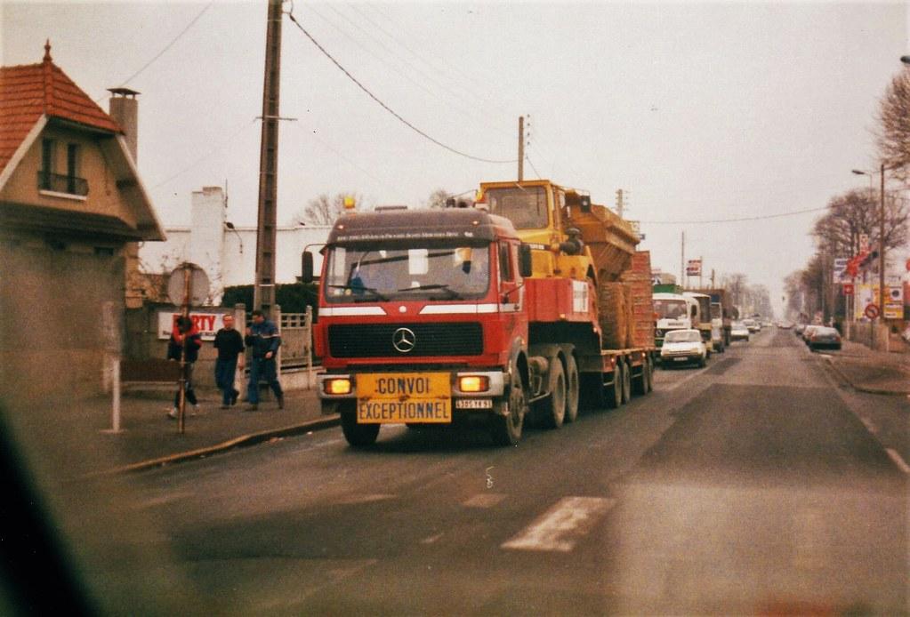 Mercedes NG 2644 6x4 RN14 Bonsecours (76 Seine Maritime) 1992a
