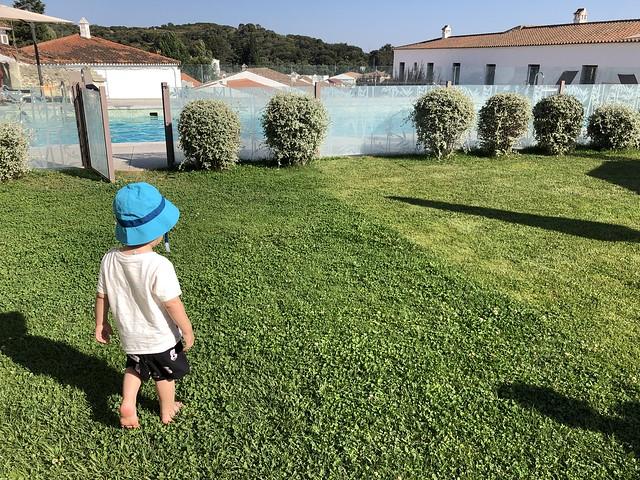 El pequeño Unai en Aracena (Huelva)
