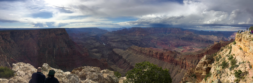 Clouds over the Grand Canyon, 2017
