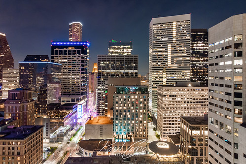 houston htx htown hou houstontx dji mavicair air drone night longexposure raulcano aerial photography landscape houstontexas houstonskyline downtown city cityscape downtownhouston