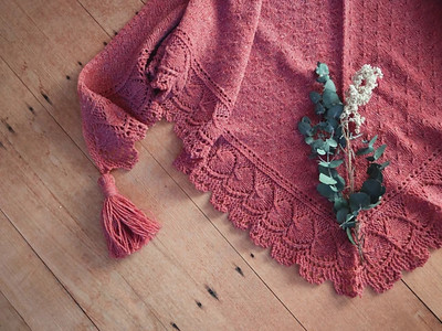 Quiet Ways shawl by Katie Flora is free for now.