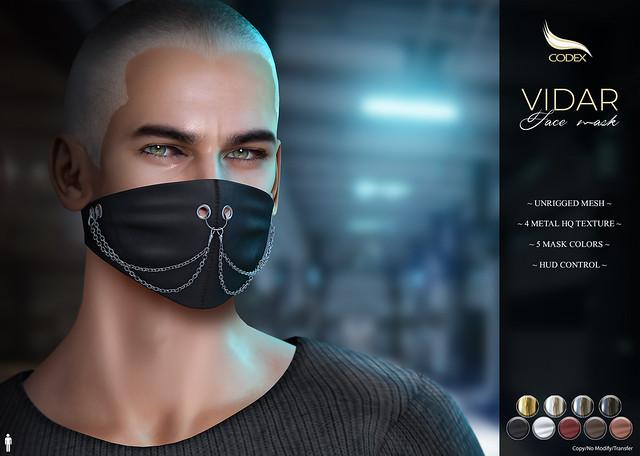 CODEX_VIDAR FACE MASK