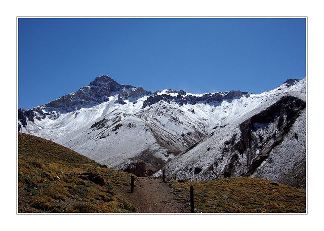 En chemin vers l'Aconcagua / Argentine