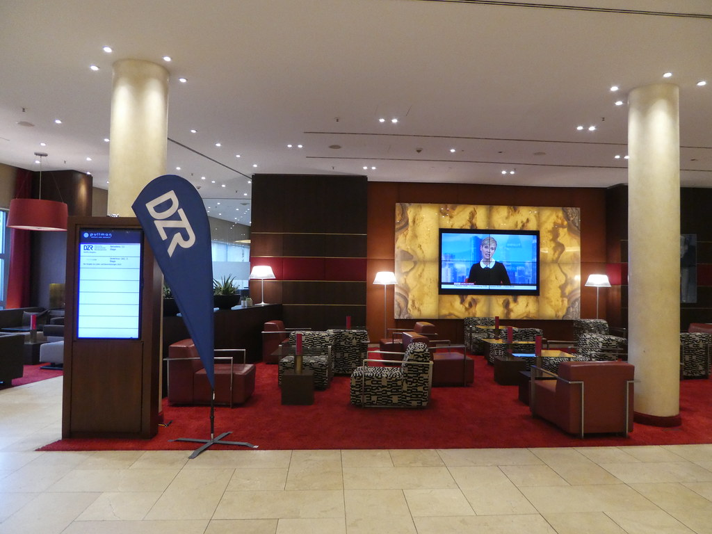 Lobby, Pullman Hotel, Cologne
