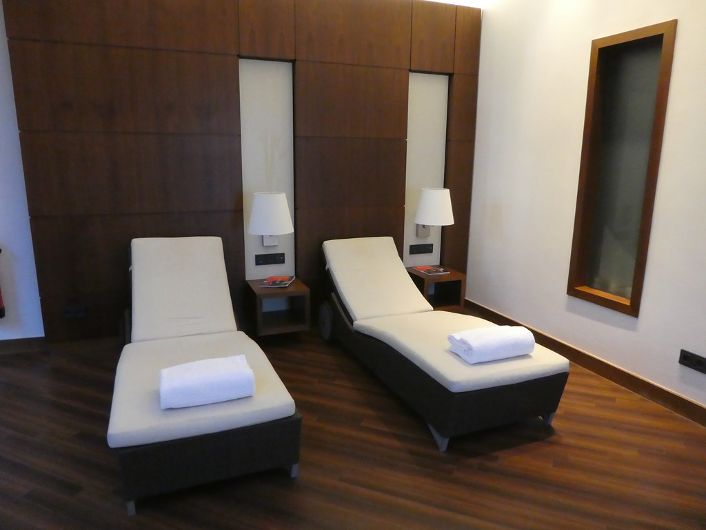 Relaxation room in the Pullman Hotel Cologne spa