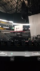 View of stage
