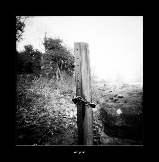 old post at the packsaddle bridge....