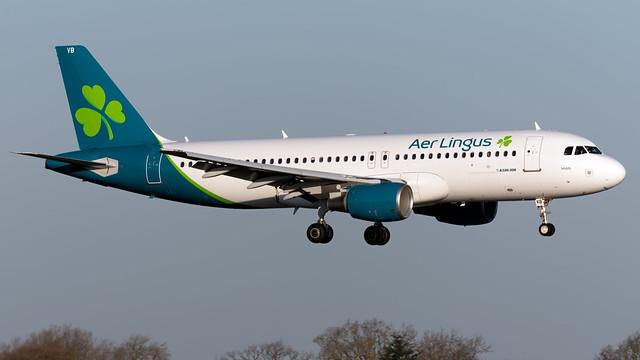 Aer Lingus EI-CVB A320-214 EGCC 20.03.2020