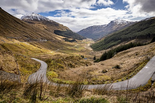 landscape landscapephotography mountain mountains valley road windingroad trees grass snow snowcapped peaks glen thecobbler scale naturalworld geology blue sky clouds hdr highdynamicrange history historical location scenic viewpoint restandbethankful scottish highlands scottishhighlands beauty beautiful scenery serenity peaceful isolated tone texture detail depth naturallight outdoor light shade scene life canon canon5dmkiii 24mm wideangle ef2470mmf28liiusm colour arrochar scotland uk leanneboulton