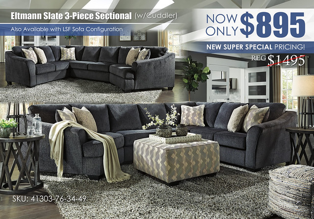 Eltmann Slate 3-PC Sectional wCuddler_ClearanceUpdate_41303-76-34-49