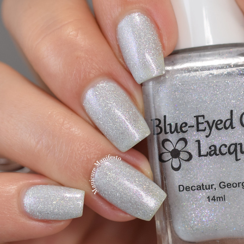 Blue Eyed Girl Lacquer WCM2 review
