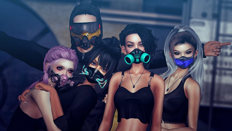 Cyber Fair Masks
