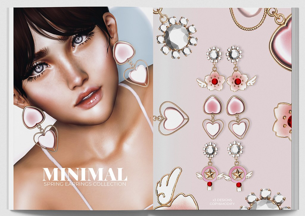 MINIMAL - Spring Earrings Collection AD-2048