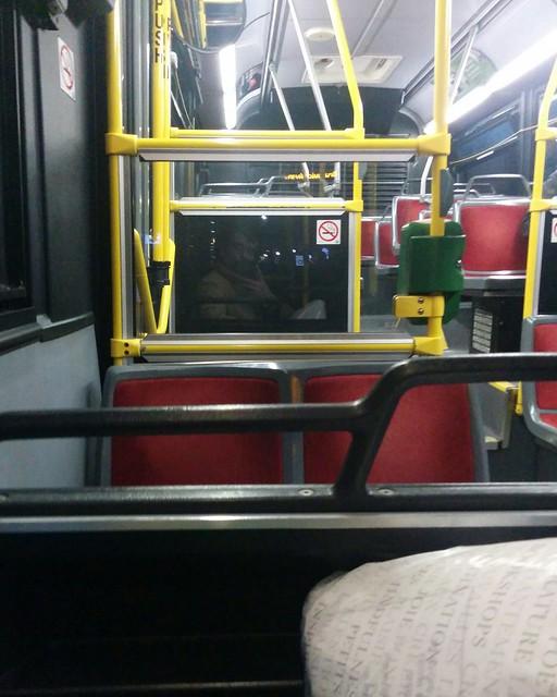 Empty seats, 94 Wellesley #toronto #ttc #buses #94wellesley #coronavirustoronto #latergram