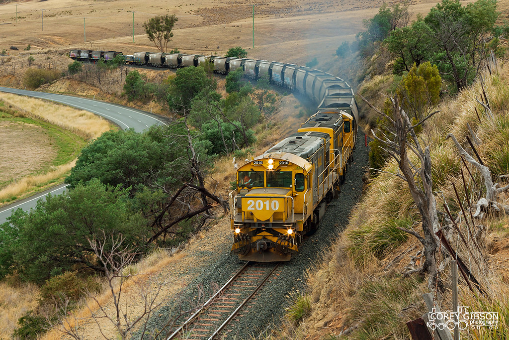 Tasrail #246 Fingal Coalie with 2010 & 2001 by Corey Gibson