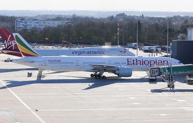 Ethiopian Airlines Boeing 777-36N(ER) ET-APY