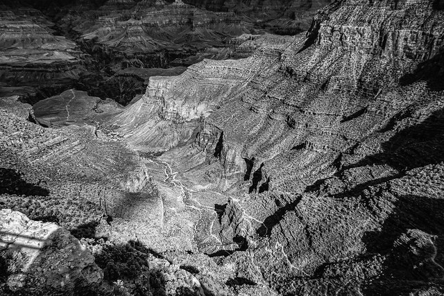 Infrared photography in the Grand Canyon