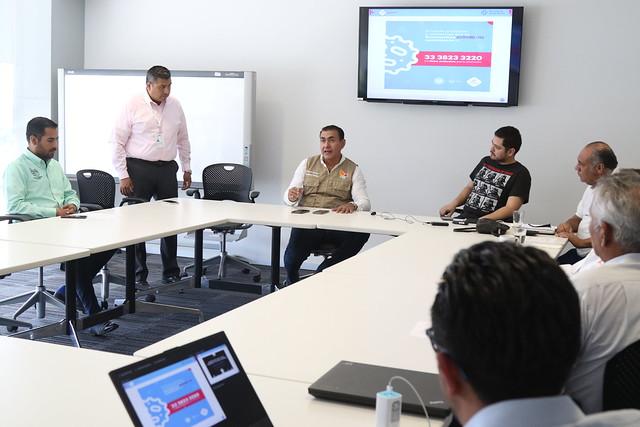 Reunión Región Sanitaria XII sobre COVID-19 en Tlajomulco