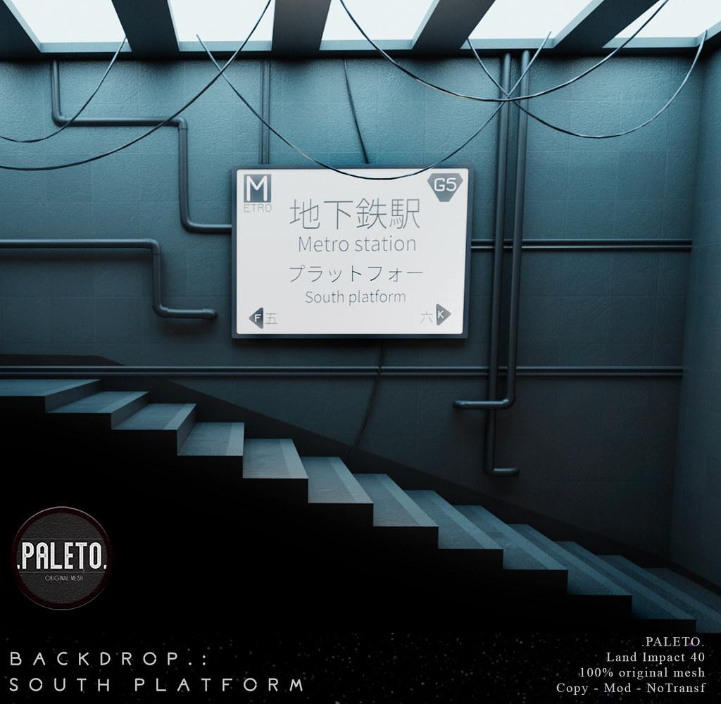 .PALETO. Backdrop:. South Platform