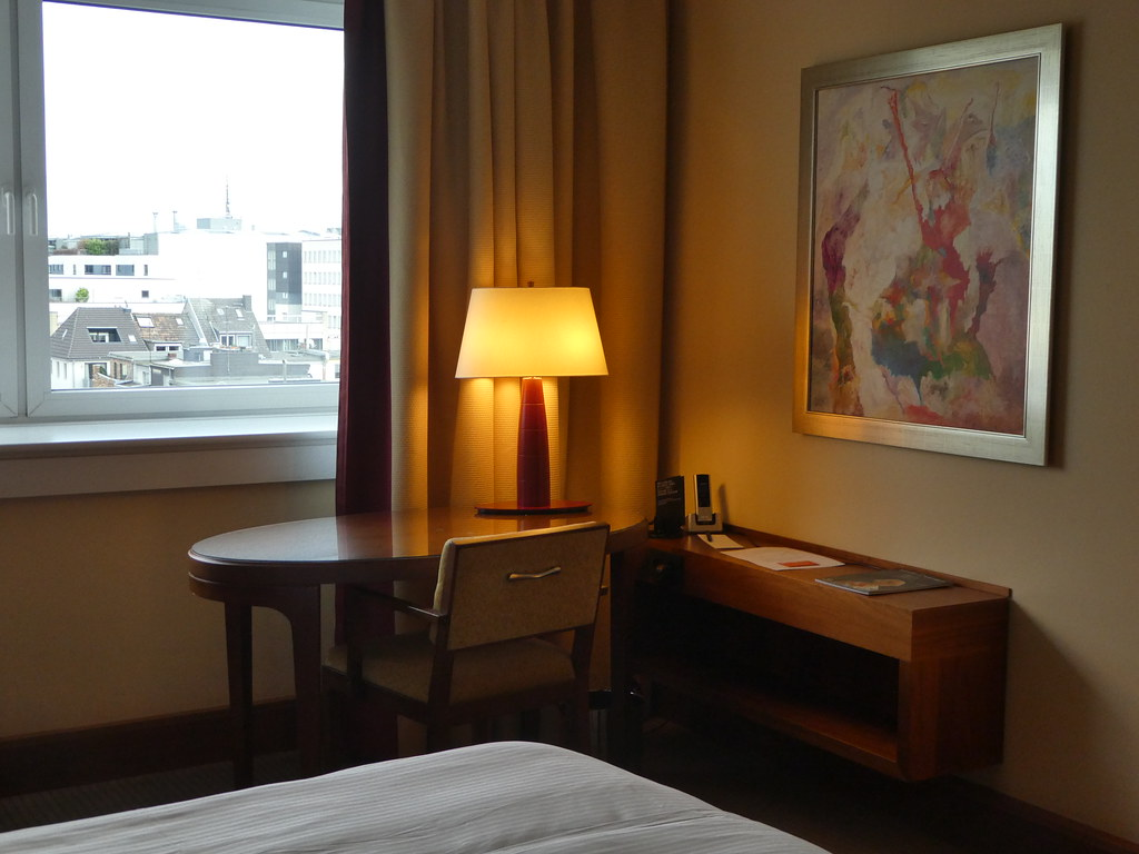 Our stylish room at The Pullman Hotel, Cologne