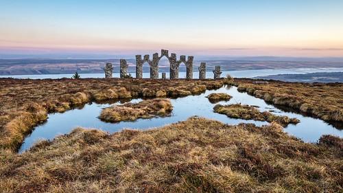 2020 alness bridge cromarty firth fyrish highland monument scotland sunset winter stoates steveoates olympus