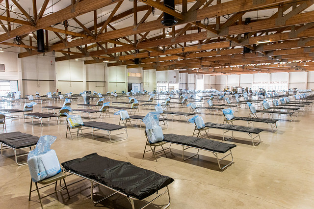 Oregon National Guard sets up Oregon Medical Station