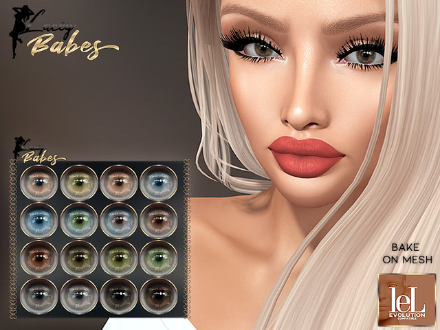 Meli BOM / LELUTKA EVO Eyes (16 colors)