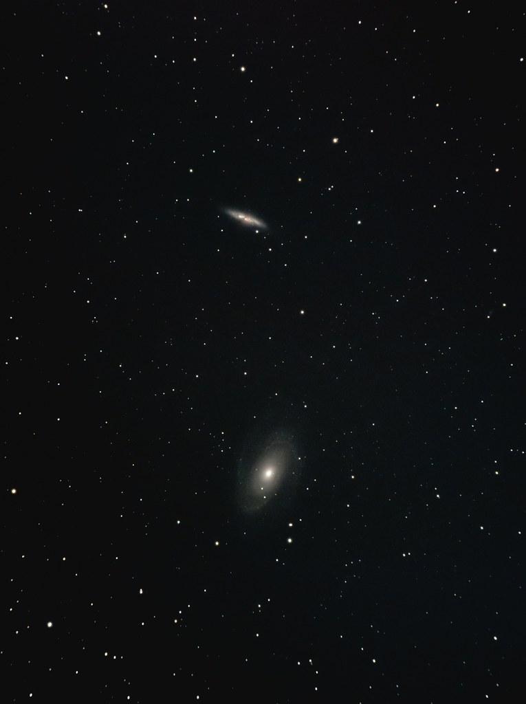 M81, M82 (2020/3/20 22:37)