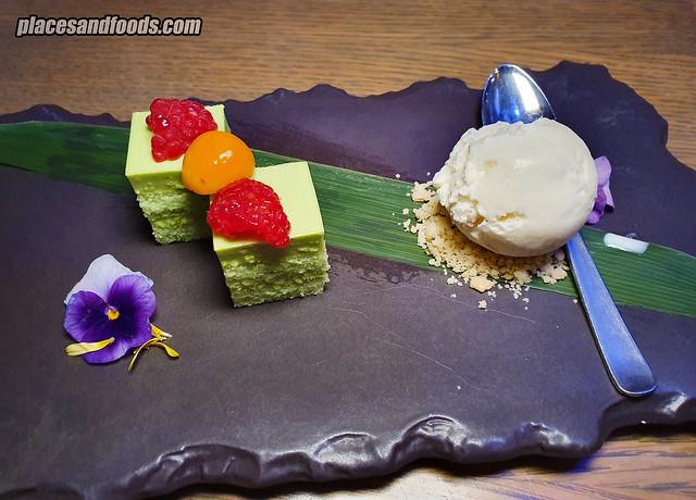 forest Equarius Hotel dessert