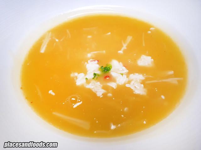 forest Equarius Hotel alaska king crab soup