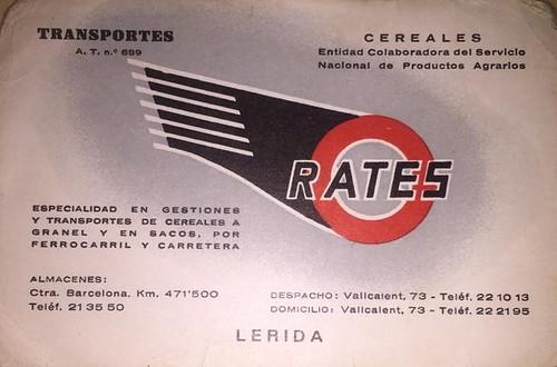 targeta Transports Ratés