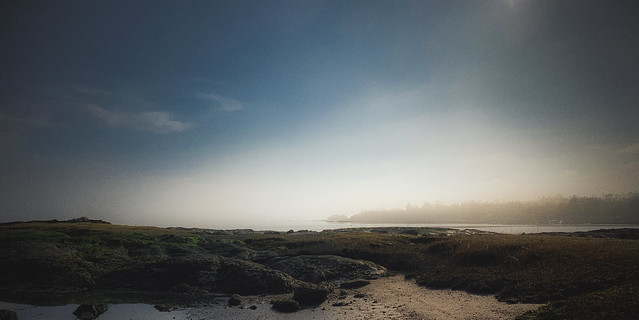 Misty Light on the CT Coast
