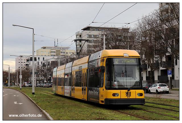 Tram Dresden - 2020-12
