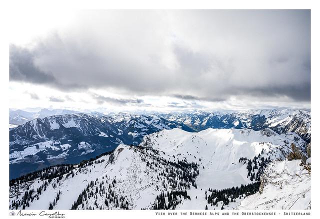 View over  the Bernese Alps - Stockhorn -  Switzerland - NZ6_3762