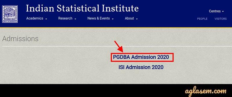 PGDBA 2020 Result