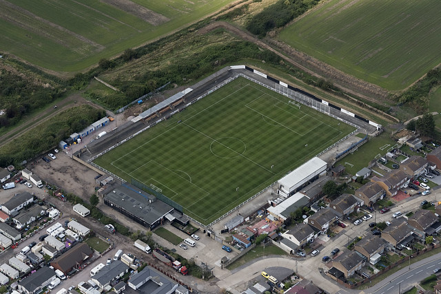 Chadfields - Tilbury Football Club Ground aerial image