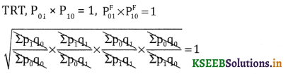 2nd PUC Statistics Question Bank Chapter 2 Index Number - 22