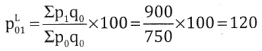 2nd PUC Statistics Question Bank Chapter 2 Index Number - 66