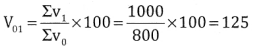 2nd PUC Statistics Question Bank Chapter 2 Index Number - 89