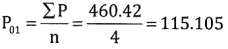 2nd PUC Statistics Question Bank Chapter 2 Index Number - 119
