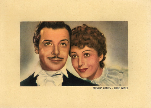 Fernand Gravey and Luise Rainer in The Great Waltz (1938)