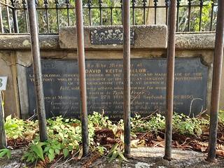 Grave of Dr David Ballow