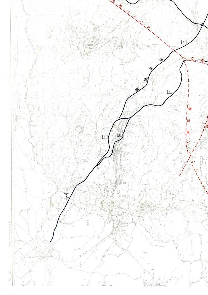 横浜都市高速道路網計画案 (4)