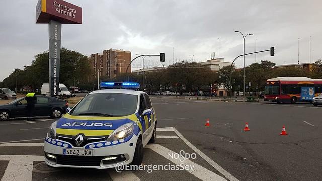 Control Policía Coronavirus Sevilla