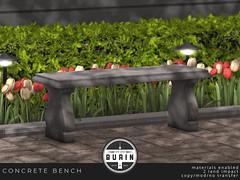 Concrete Bench @ Bloom