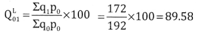 2nd PUC Statistics Question Bank Chapter 2 Index Number - 17