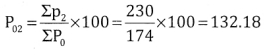 2nd PUC Statistics Question Bank Chapter 2 Index Number - 29