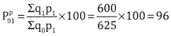2nd PUC Statistics Question Bank Chapter 2 Index Number - 83