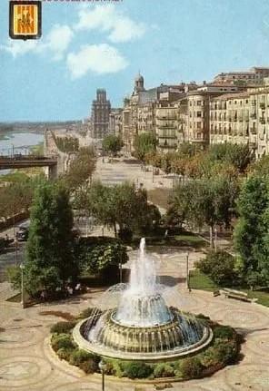 riu Segre Lleida 1960