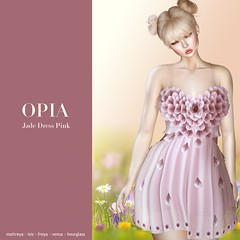 OPIA Jade Dress Pink. ¡New Group Gift!